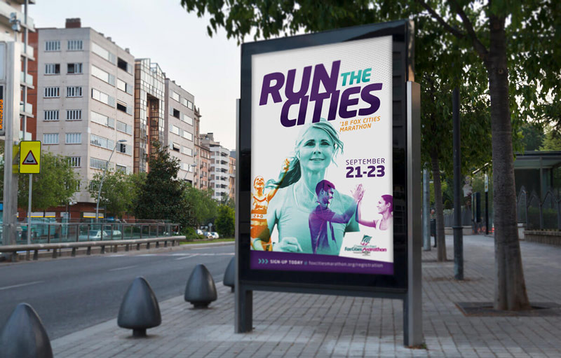 Run the Cities poster