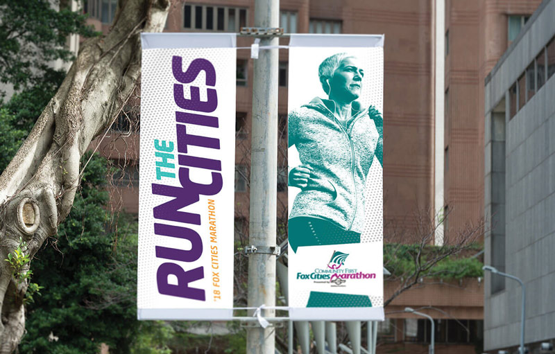 Run the Cities banners