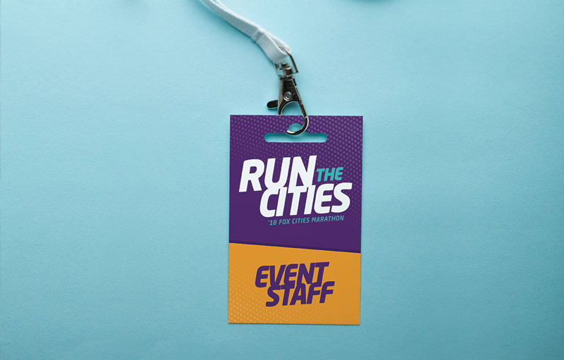 Run the Cities event staff badge