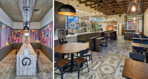 Taco Bell building interior redesign