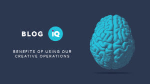 Blog IQ Benefits of Using our creative operations line drawing of a brain